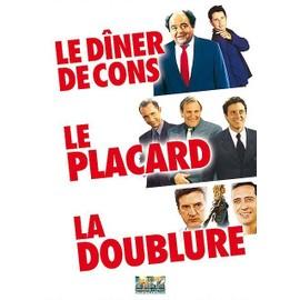 Image 3 Films Écrits Et Réalisés Par Francis Veber Le Dîner De Cons + Le Placard + La Doublure Pack