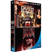 Death Race, Course � La Mort + Doom - Pack - Blu-Ray de Paul W.S. Anderson