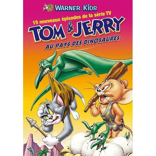 TOM ET JERRY AU PAYS DES DINOSAURES (DVD)