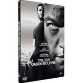 Jason Bourne - Coffret Trilogie : La M�moire Dans La Peau + La Mort Dans La Peau + La Vengeance Dans La Peau - Pack Collector Bo�tier Steelbook de Doug Liman