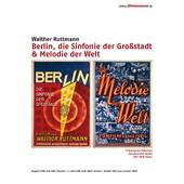 Berlin, Symphonie D'une Grande Ville de Walther Ruttmann