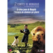 2 Contes De Mongolie - Coffret - Le Chien Jaune De Mongolie + L'histoire Du Chameau Qui Pleure de Byambasuren Davaa