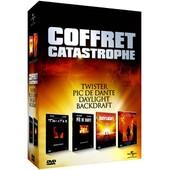 Coffret Catastrophe - Twister + Le Pic De Dante + Daylight + Backdraft de Jan De Bont