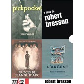 Robert Bresson - Coffret - Pickpocket + Le Proc�s De Jeanne D'arc + L'argent de Robert Bresson
