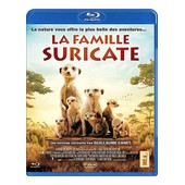 La Famille Suricate - Blu-Ray de James Honeyborne