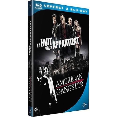 Mafia New-Yorkaise - La Nuit nous appartient + American Gangster [Coffret 2 Blu-Ray]