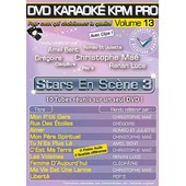 Dvd Karaok� Kpm Pro - Vol. 13 : Stars En Sc�ne 3