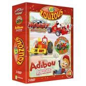 Coffret Les Zouzous - Tracteur Tom + Roary + Adibou - Pack