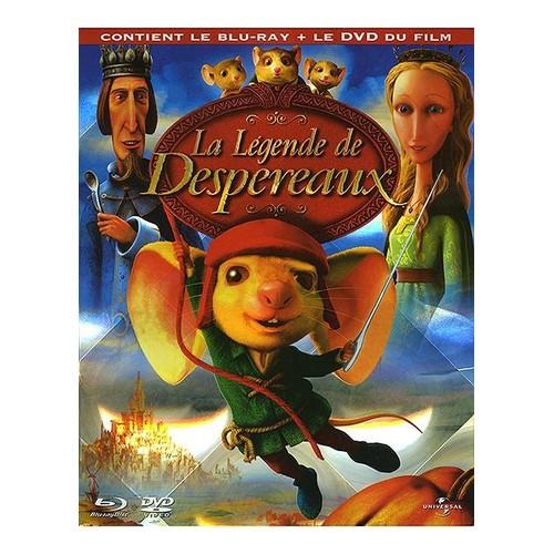 BLU-RAY LA LEGENDE DE DESPEREAUX + Le DVD du film