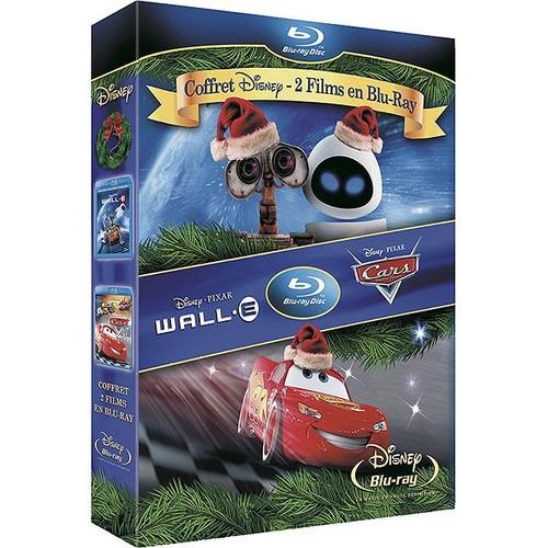Blu-Ray Disc DISNEY WALL-E ; CARS - QUAT