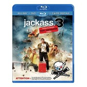 Jackass 3 - Combo Blu-Ray + Dvd + Copie Digitale de Jeff Tremaine