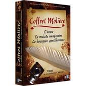 Coffret Moli�re - L'avare + Le Bourgeois Gentilhomme + Le Malade Imaginaire - Pack de Christian De Chalonge