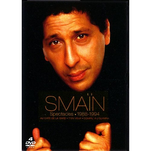 Smaïn  : Spectacles 1988/1994 - Édition Collector 4 DVD