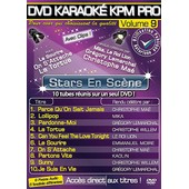 Dvd Karaok� Kpm Pro - Vol. 9 : Stars En Sc�ne