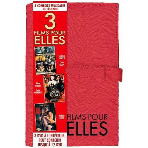 Coffret notebook comedies musicales : moulin rouge ; west side story ; romeo et juliette