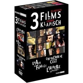 Image 3 Films De Cédric Klapisch Coffret Chacun Cherche Son Chat + Un Air De Famille + Lauberge Espagnole