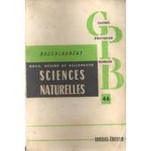 Guide Pratiques Bordas -Baccalaureat - Sciences Naturelles - No 46 - 1964 de Roux Desire F Villeneuve