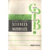 Guide Pratiques Bordas - B.E.P.C. Des Lyc�es Et Coll�ges D'enseignement G�n�ral - Sciences Naturelles - No73 de Ch Desire F Villeneuve