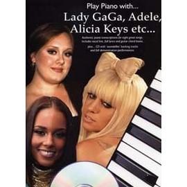 PLAY PIANO WITH LADY GAGA, ADELE, ALICIA KEYS ETC... CD