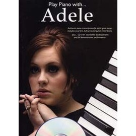 ADELE PLAY PIANO WITH CD