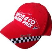 Casquette F1 Gp Grand Prix De Monaco Formule 1 Auto Moto - Taille R�glable Ado / Adulte - Mod�le N�5