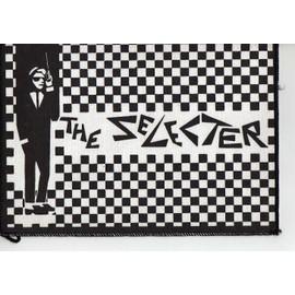 SKA : THE SELECTER écusson 25 x 20 cms Two tones article original d'époque