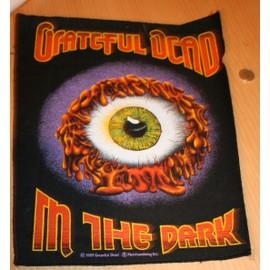 PUNK : THE GRATEFUL DEAD Dossard 40 x 30 cms env. IN THE DARK de 1989