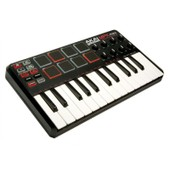 Akai Mpk Mini 25 - Clavier Ma�tre Midi Usb 25 Notes Avec Pads