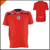 Maillot De Foot Angleterre Rouge 2008-2010