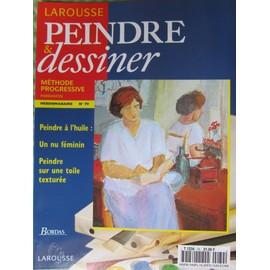 Peindre Et Dessiner N� 79 : Peindre � L Huile Un Nu Au F�minin Peindre Sur Une Toile Textur�e