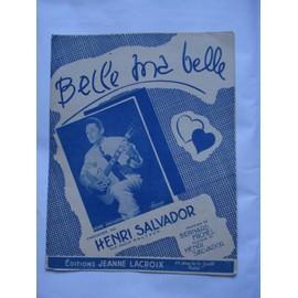 Belle ma Belle  / Henri Salvador / 1950