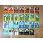 Lot De 50 Cartes Pokemon De Blanc Et Noir