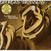 Disque Vinyle 33t La Mauvaise Reputation / Le Fossoyeur / Le Gorille / Le Petit Cheval / Ballade Des Dames Du Temps Jadis / Hecatombe / La Chasse Aux Papillons / Le Parapluie / La Marine / ... - Georges Brassens 1