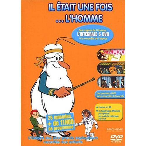 IL ÉTAIT UNE FOIS...L'HOMME  (COFFRET DE 6 DVD)