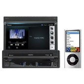 Nz501e - Station Multimedia Motorisee 1din Dvd - Usb/Ipod/Iphone/Bluetooth - Navigation 2011