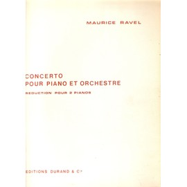 Ravel : Concerto pour piano et orchestre
