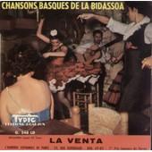 Chansons Basques : Patxi, Carta A La Madre, Chomin Enea, Aran Eder - La Bidassoa Groupe Basque (C.S. Gurruchaga - Moncayo - M. Castanos - G. Maurage)