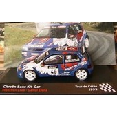 Citroen Saxo Kit Car Loeb Tour De Corse 1999 Ixo 1/43 Altaya
