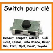 Switch, Bouton De Circuit De Plip Peugeot, Citroen, Renault