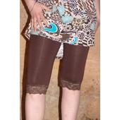 Corsaire Legging Dentelle !! Taille Unique (36-38-40-42) !! Longueur 62cm-Ceinture �lastiqu�e !! 95% Viscose 5%Elasthanne !! Expedition En 24/48hrs