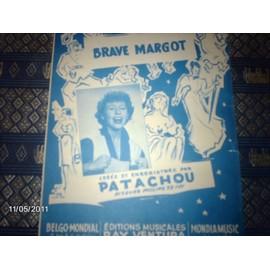 partition de georges brassens de 1952 (brave margot)
