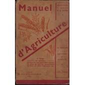 Manuel D'agriculture de T. Genech de La Louvi�re