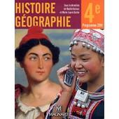 Histoire G�ographie 4e - Manuel �l�ve de Rachid Azzouz