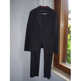 Tailleur Zara Gris Veste Xl Pantalon Taille 40