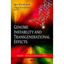 Genome Instability & Transgenerational Effects