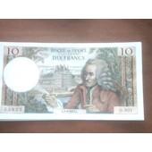 An�ien Billet De 10 Franc