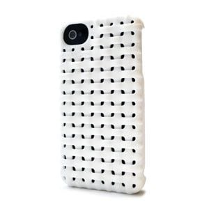 Coque Iphone 4 Freshfiber Weave Blanche