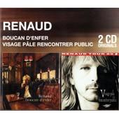 Coffret 2 Cd : Boucan D'enfer / Visage Pale Rencontrer Public - Renaud
