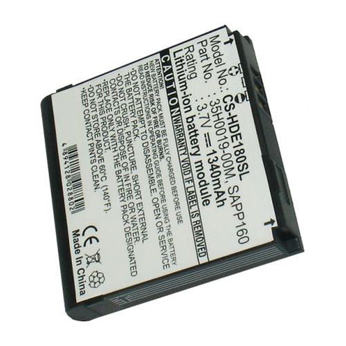 BLUETRADE - BATTERIE HAUTE PERFORMANCE 1340 MAH POUR HTC MAGIC, A6161, SAPPHIRE, SAPPHIRE 100, PI...