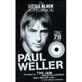 LITTLE BLACK SONGBOOK PAUL WELLER THE JAM THE STYLE COUNCIL